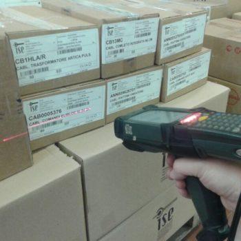 Gestione magazzino con codici barcode