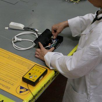 Linea di montaggio ESD Protect