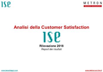 ISE Cablaggi - Indagine di Customer Satisfaction 2018